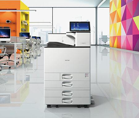 Ricoh stampante multifunzione colori SPC840 ufficio Logical System